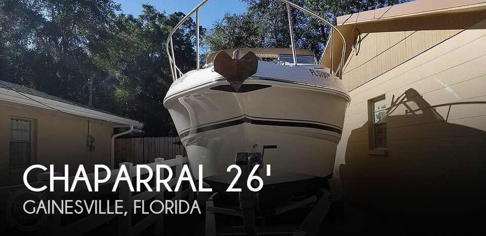 Used Chaparral 26 Boats For Sale by owner | 2004 Chaparral Signature 260