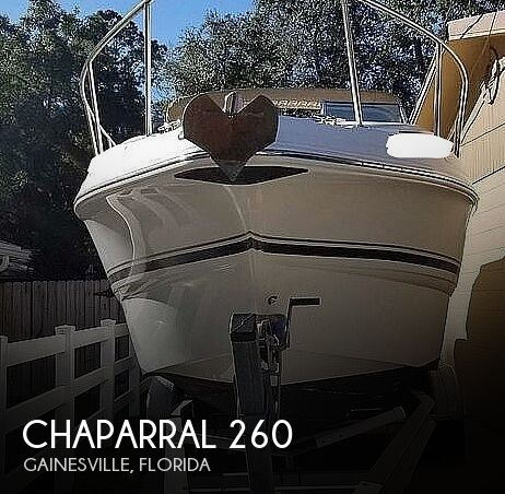 2004 Chaparral boat for sale, model of the boat is 260 Signature & Image # 1 of 40
