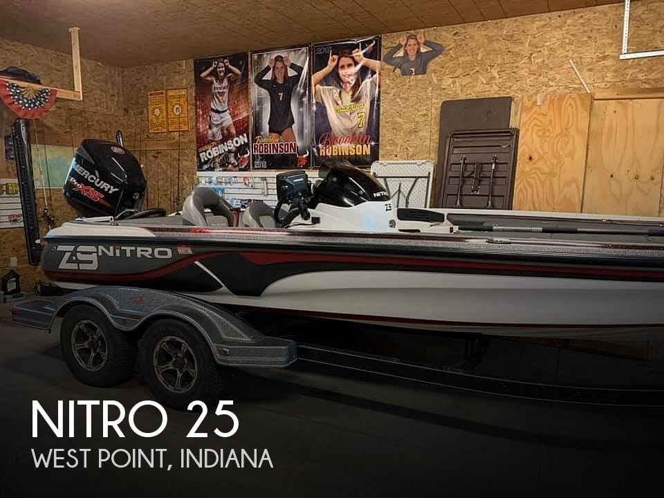 Used Boats For Sale in Indianapolis, Indiana by owner | 2015 Nitro 25