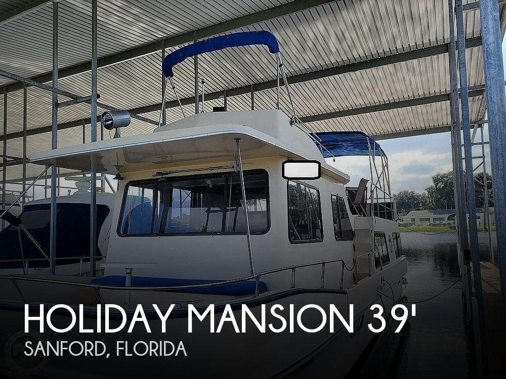 1985 Holiday Mansion boat for sale, model of the boat is Coastal Barracuda Aft Cabin & Image # 1 of 40