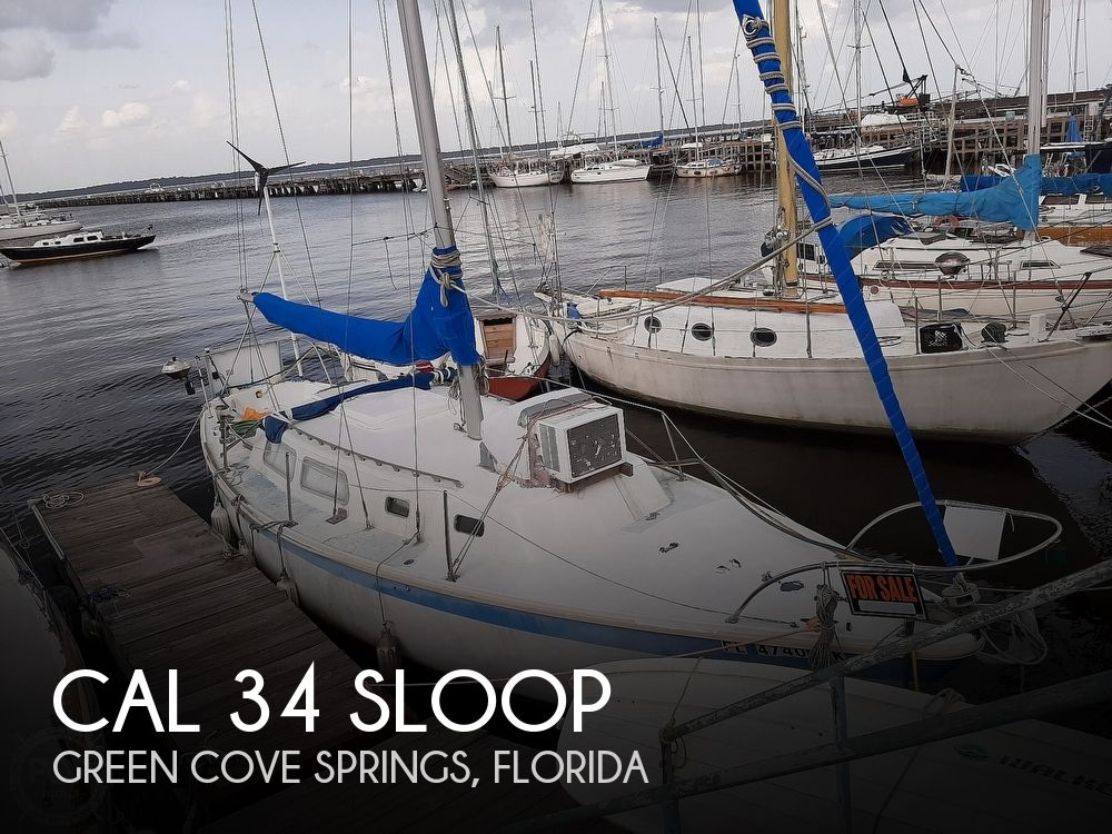 Used Cal Boats For Sale by owner | 1968 CAL 34 Sloop