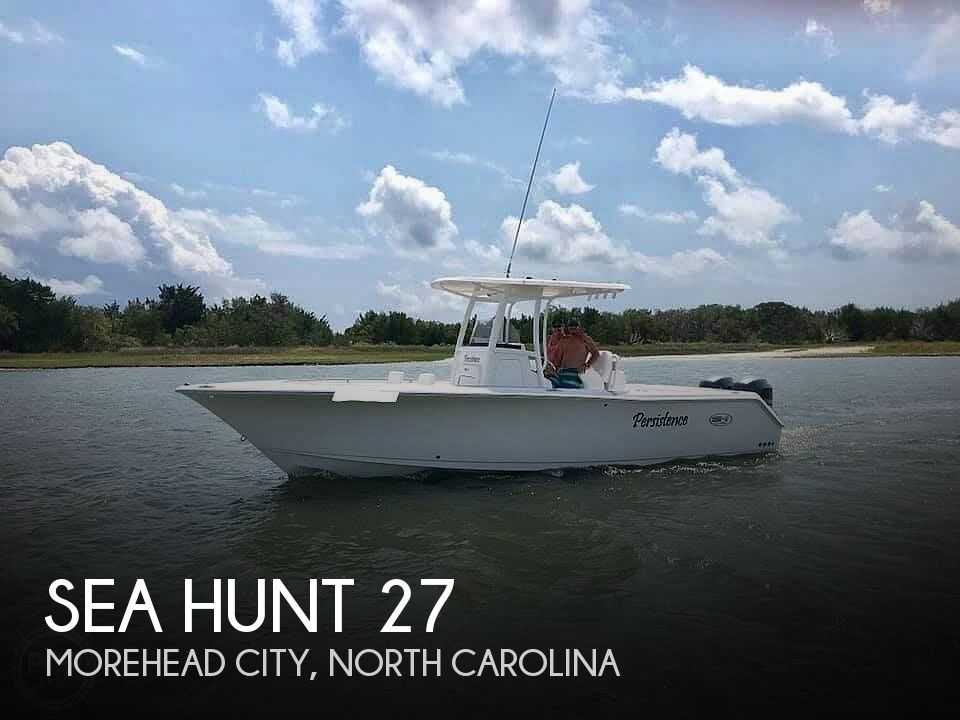 Used Sea Hunt Boats For Sale in North Carolina by owner | 2014 Sea Hunt 27 Gamefish
