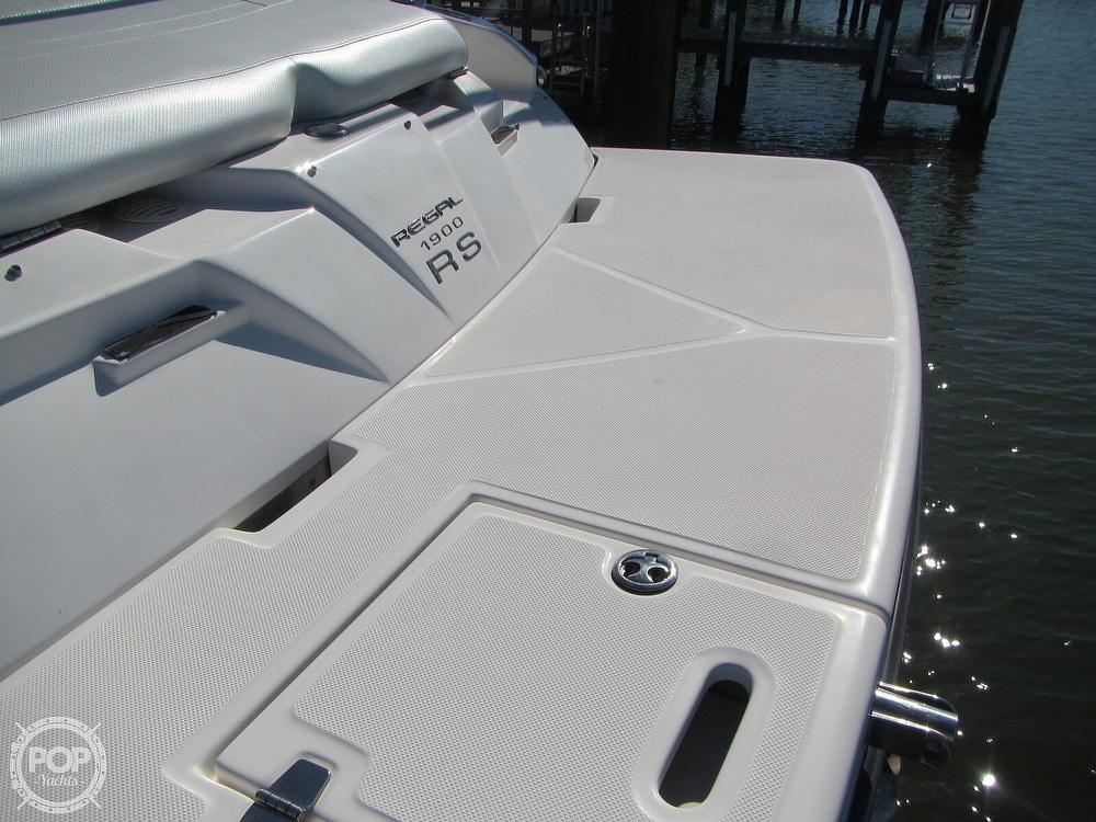 2011 Regal boat for sale, model of the boat is 1900 RS & Image # 25 of 40