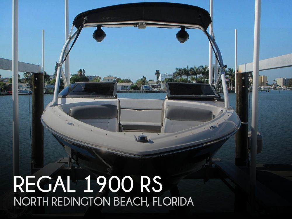 2011 Regal boat for sale, model of the boat is 1900 RS & Image # 1 of 40