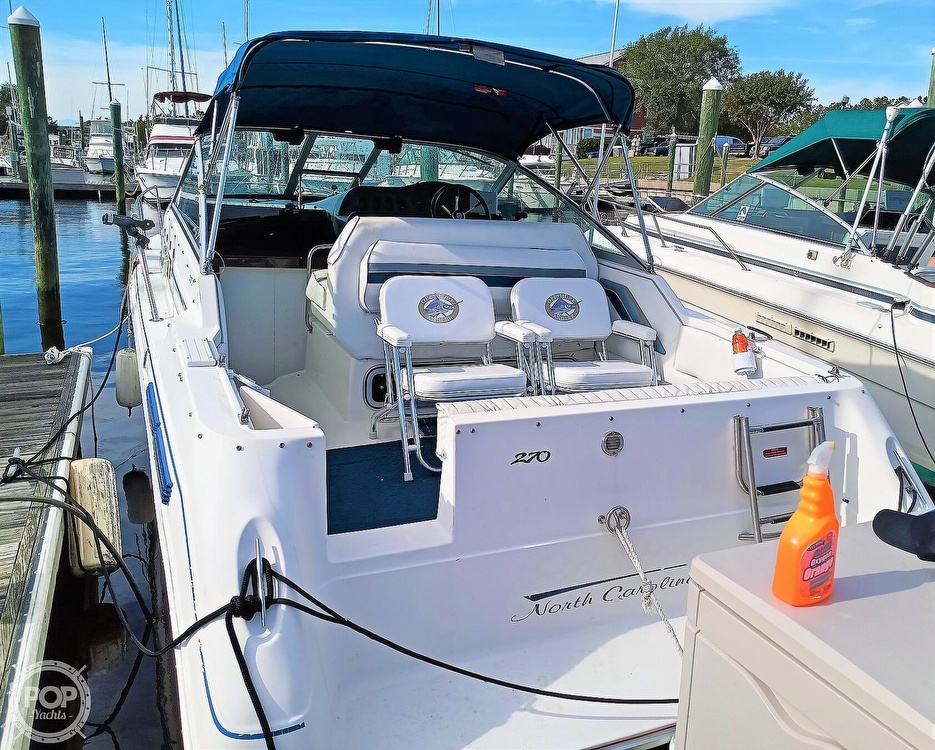 1993 Sea Ray boat for sale, model of the boat is 270 Sundancer & Image # 4 of 40