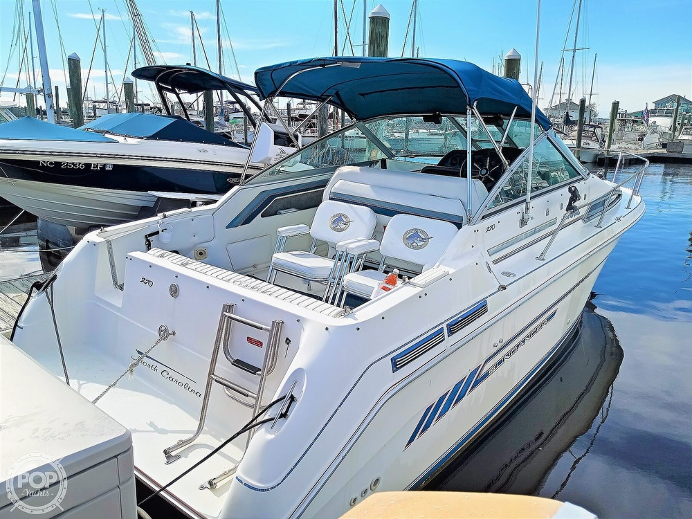 1993 Sea Ray boat for sale, model of the boat is 270 Sundancer & Image # 5 of 40