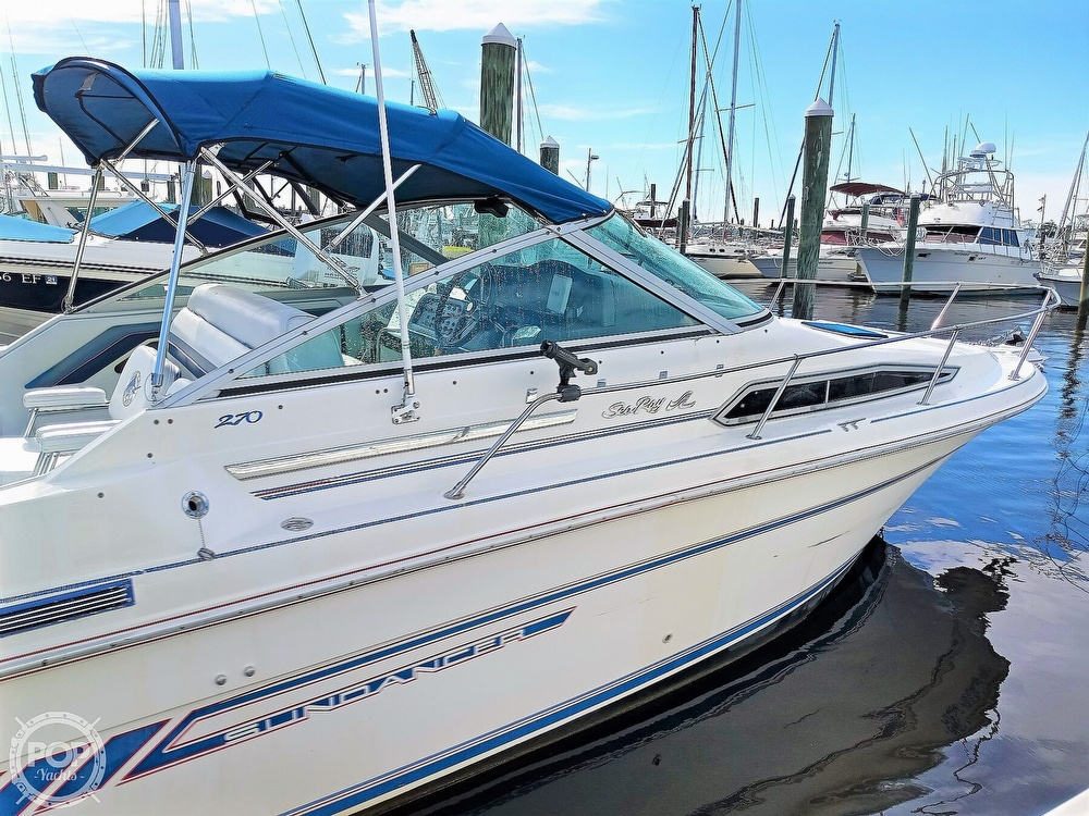1993 Sea Ray boat for sale, model of the boat is 270 Sundancer & Image # 7 of 40