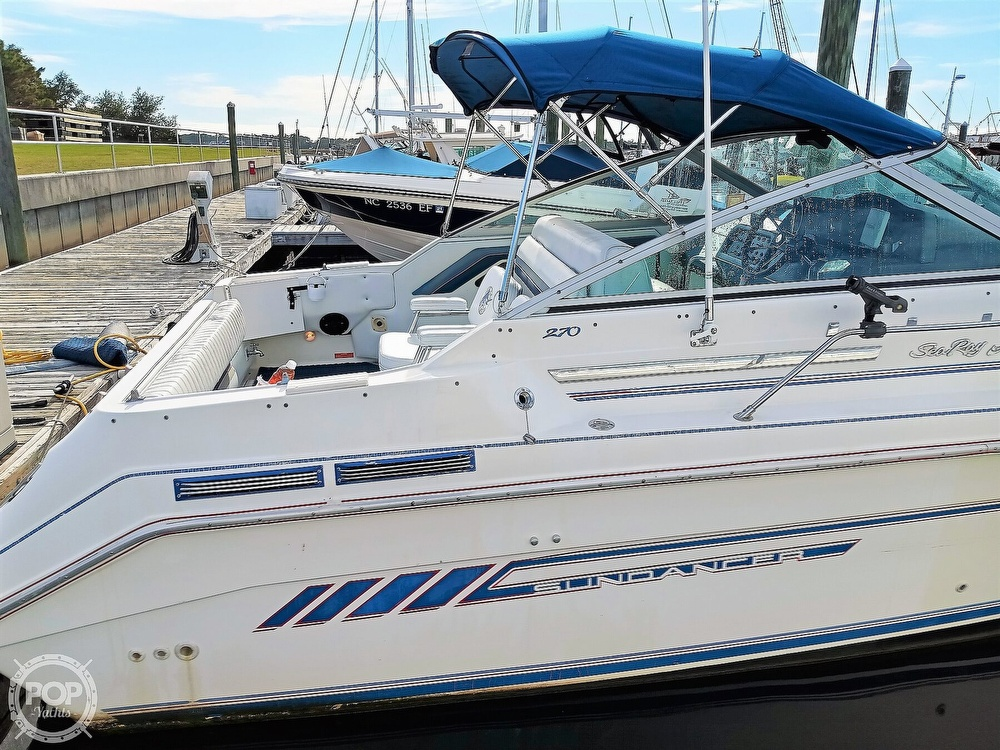 1993 Sea Ray boat for sale, model of the boat is 270 Sundancer & Image # 9 of 40