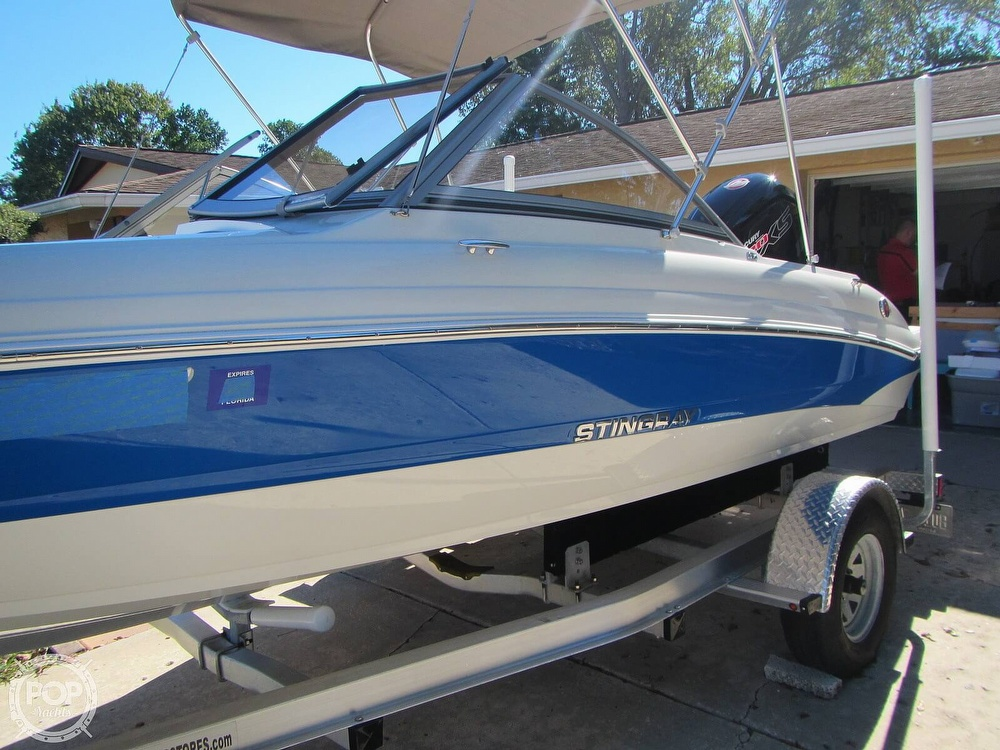 2018 Stingray boat for sale, model of the boat is 191 DC & Image # 18 of 40