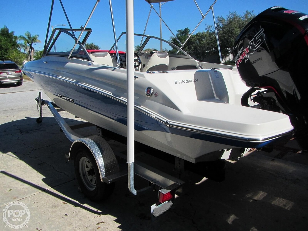 2018 Stingray boat for sale, model of the boat is 191 DC & Image # 21 of 40