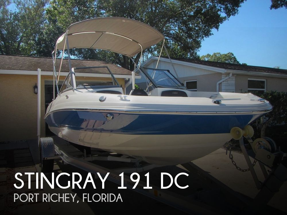2018 Stingray boat for sale, model of the boat is 191 DC & Image # 1 of 40
