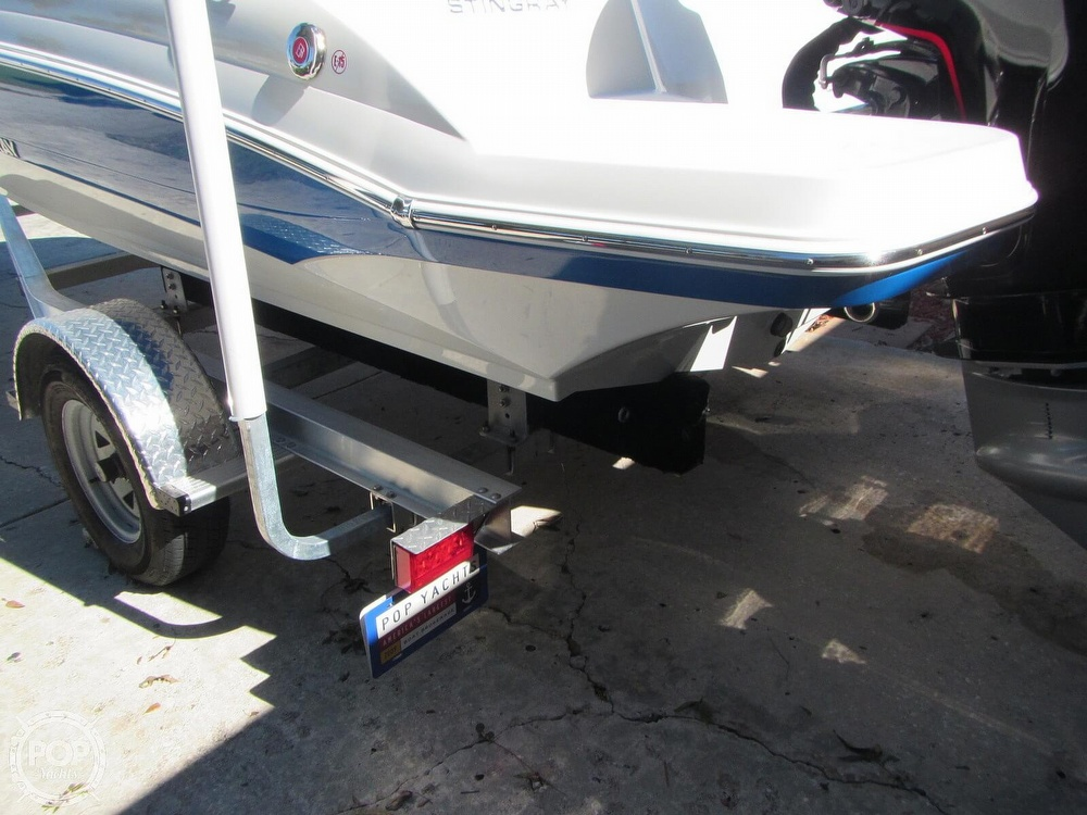 2018 Stingray boat for sale, model of the boat is 191 DC & Image # 23 of 40