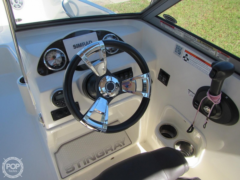 2018 Stingray boat for sale, model of the boat is 191 DC & Image # 9 of 40