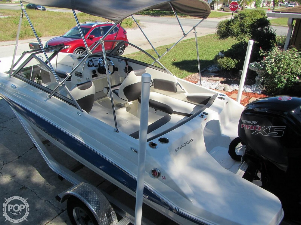 2018 Stingray boat for sale, model of the boat is 191 DC & Image # 13 of 40