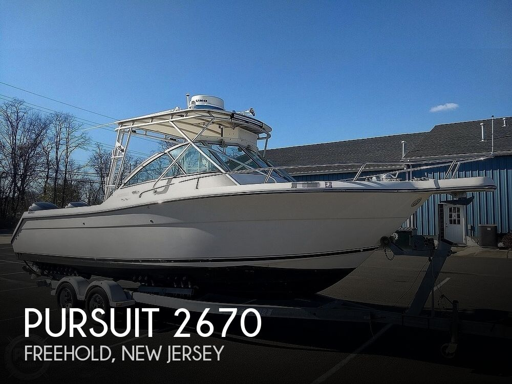 2003 Pursuit boat for sale, model of the boat is 2670 Denali LS & Image # 1 of 40
