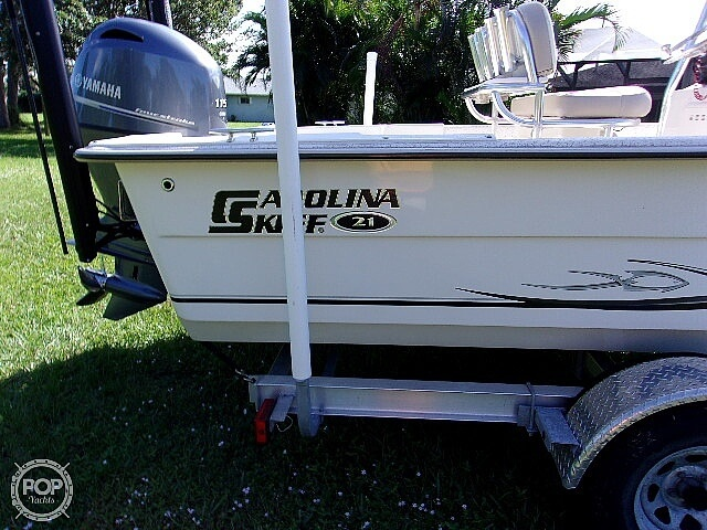 2019 Carolina Skiff boat for sale, model of the boat is 21 DLX & Image # 21 of 40