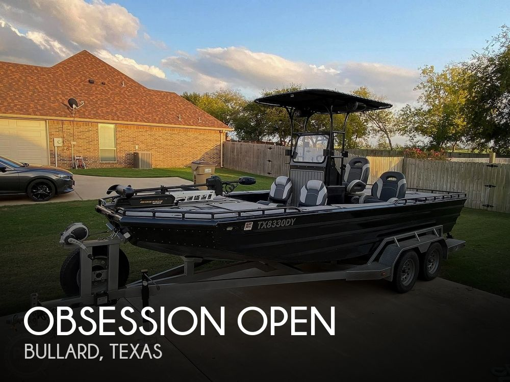 Used Boats For Sale in Tyler, Texas by owner | 2018 20 foot Obsession Open