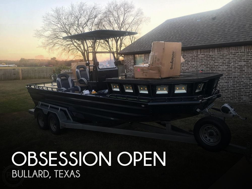 2018 Obsession boat for sale, model of the boat is Open & Image # 1 of 40