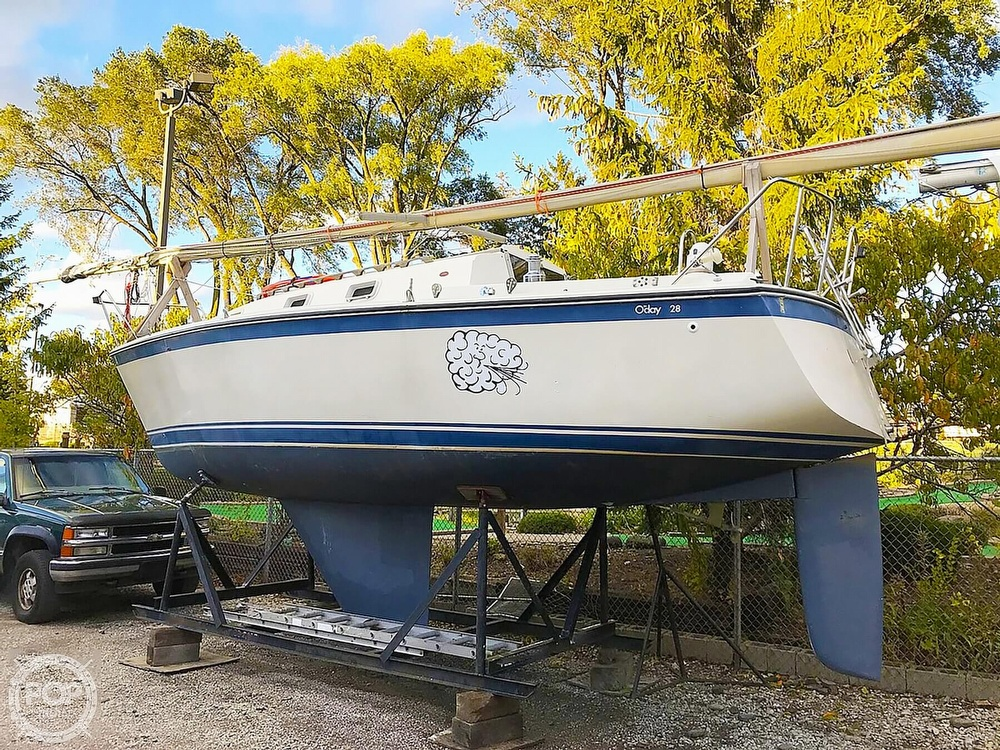 1980 O'day boat for sale, model of the boat is 28 & Image # 4 of 17
