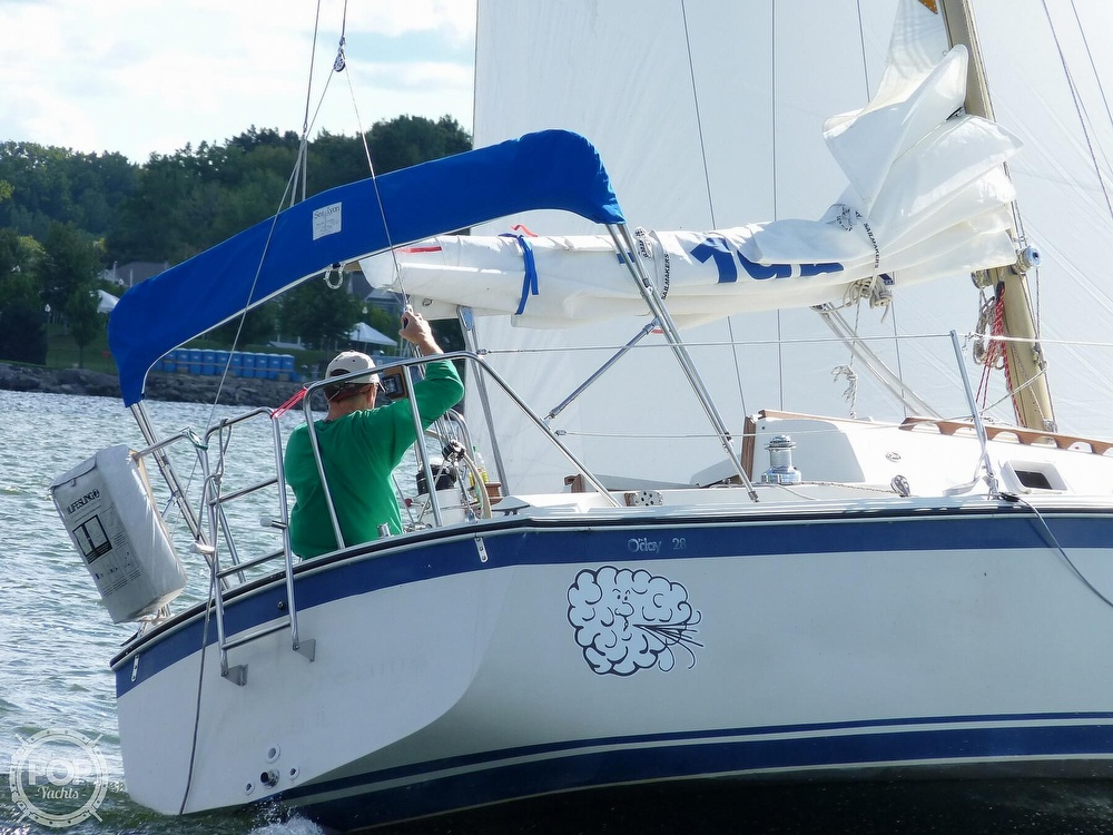 1980 O'day boat for sale, model of the boat is 28 & Image # 2 of 17