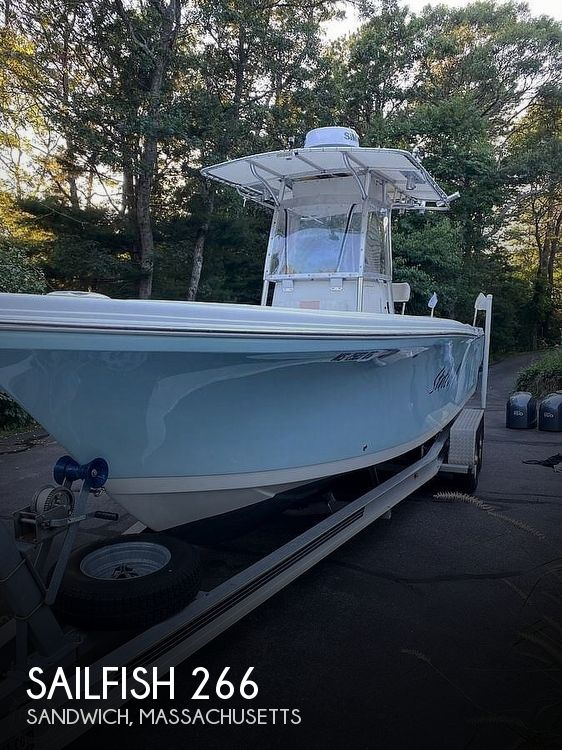 Used Sailfish Boats For Sale by owner | 2005 Sailfish 266