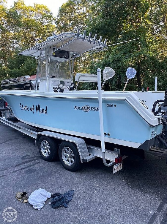 2005 Sailfish boat for sale, model of the boat is 266 & Image # 4 of 40