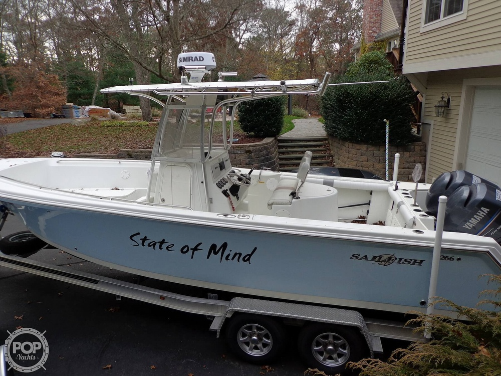 2005 Sailfish boat for sale, model of the boat is 266 & Image # 16 of 40