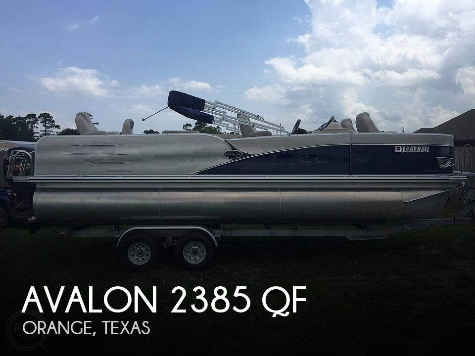 Used Avalon Boats For Sale by owner | 2018 Avalon 2385 QF