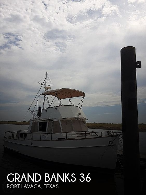 1982 Grand Banks boat for sale, model of the boat is 36 Trawler & Image # 1 of 41