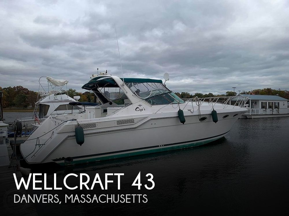 1996 Wellcraft boat for sale, model of the boat is 43 Portofino & Image # 1 of 12
