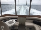 Aft Salon With Curved Seating At Sea