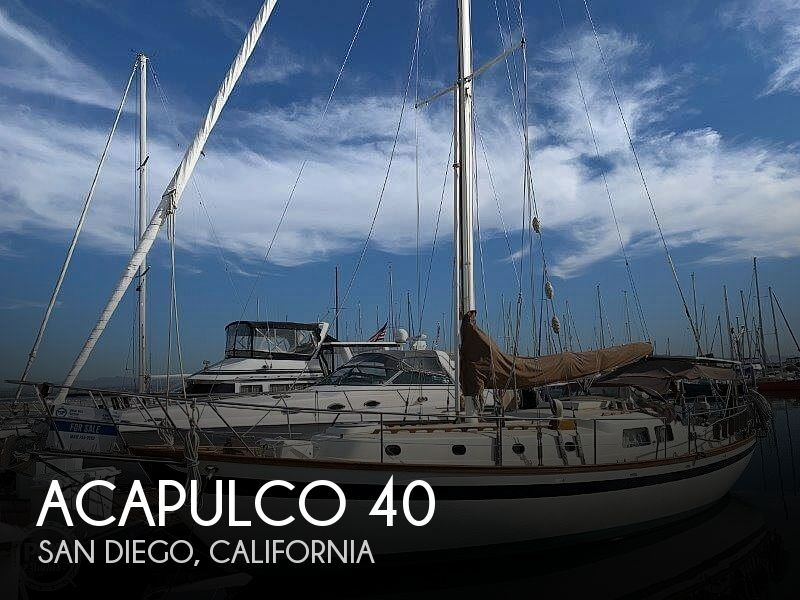 1978 Acapulco boat for sale, model of the boat is 40 & Image # 1 of 40