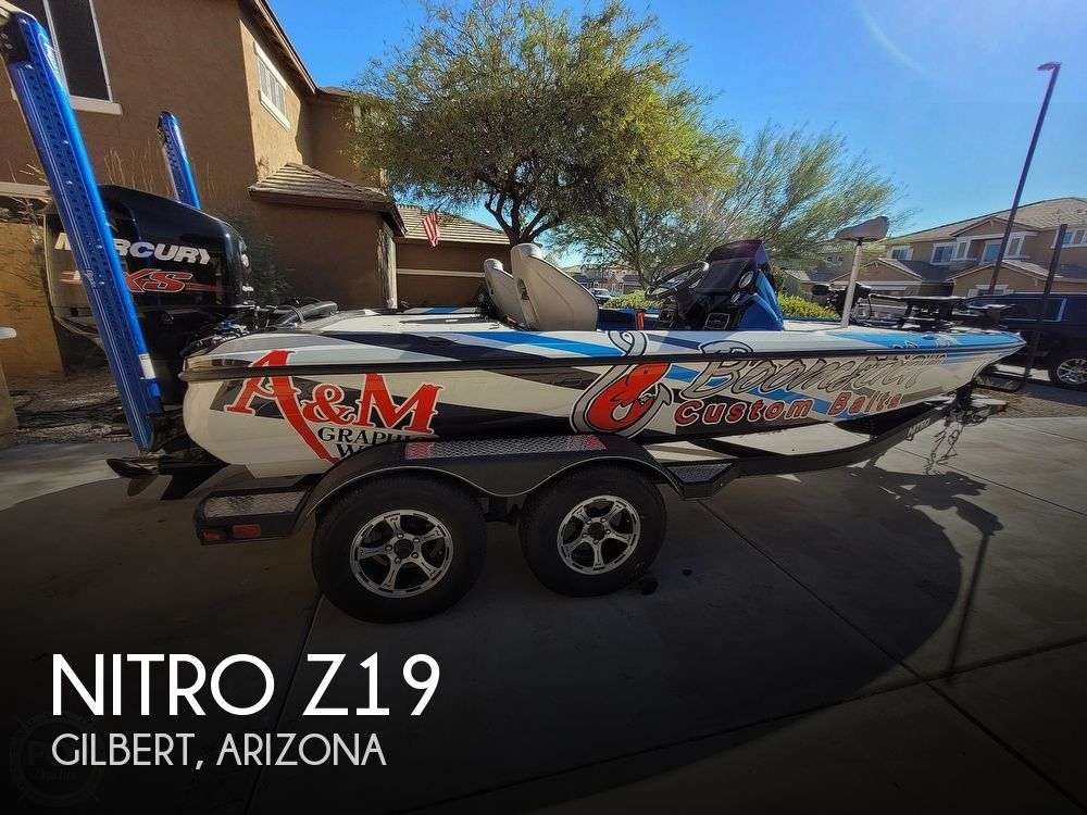 2018 Nitro boat for sale, model of the boat is Z19 & Image # 1 of 41