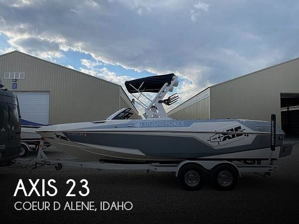 Used Boats For Sale in Spokane, Washington by owner | 2019 Axis T23 Liquid Force