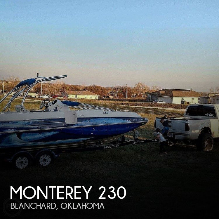 Used Monterey Boats For Sale in Oklahoma by owner | 1997 Monterey 230 Explorer