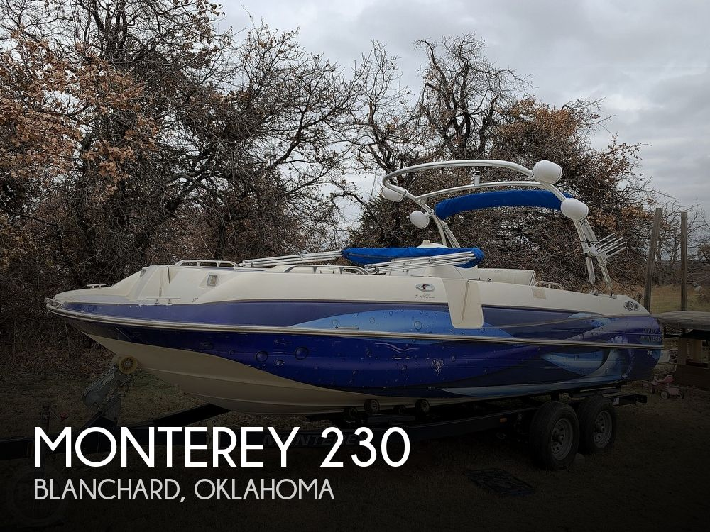 1997 MONTEREY 230 EXPLORER OPEN for sale