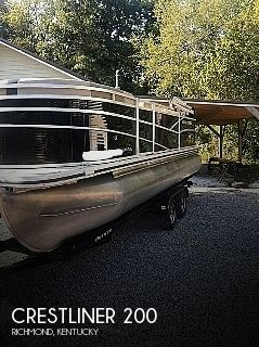 2019 Crestliner boat for sale, model of the boat is 200 Rally CS & Image # 1 of 10