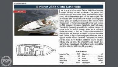 1997 Bayliner 2855 Ciera Sunbridge - #16