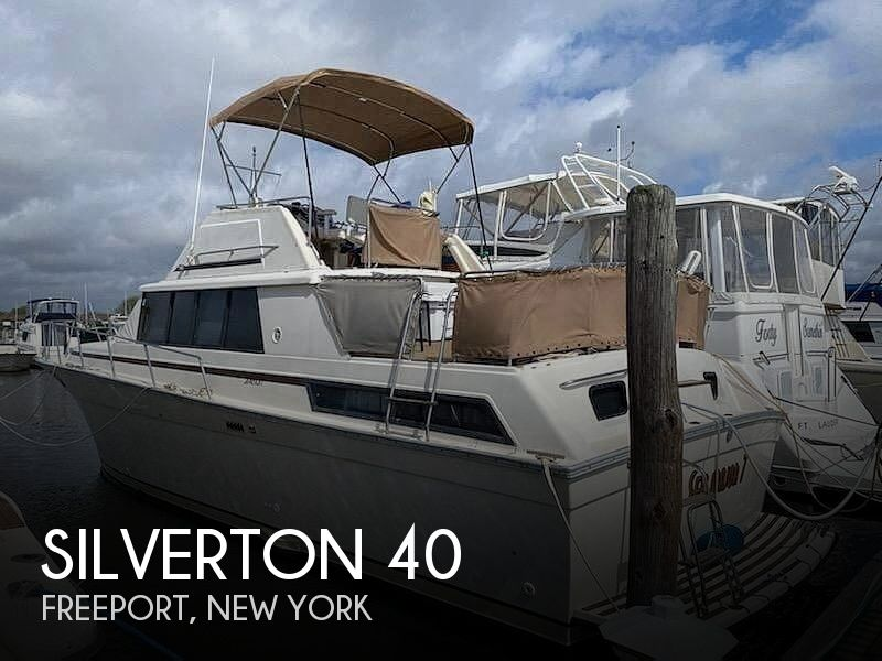 Used Silverton Boats For Sale in New York by owner   1983 Silverton 40