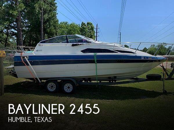 1988 Bayliner boat for sale, model of the boat is Cierra 2455 & Image # 1 of 18