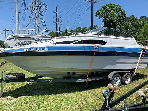 1988 Bayliner boat for sale, model of the boat is Cierra 2455 & Image # 2 of 18