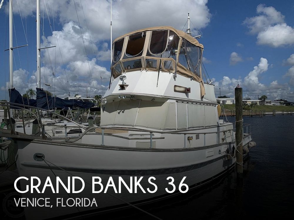 1973 Grand Banks boat for sale, model of the boat is 36 Classic & Image # 1 of 40