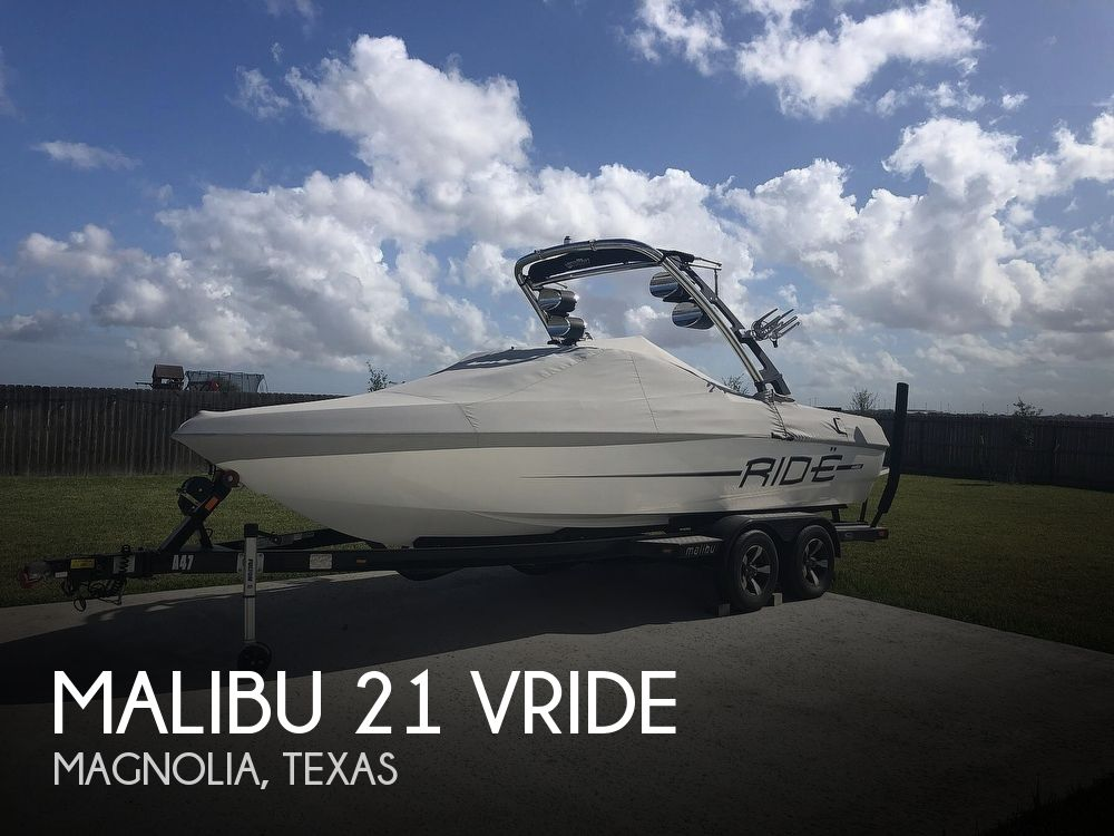 2012 Malibu boat for sale, model of the boat is 21 vRide & Image # 1 of 40