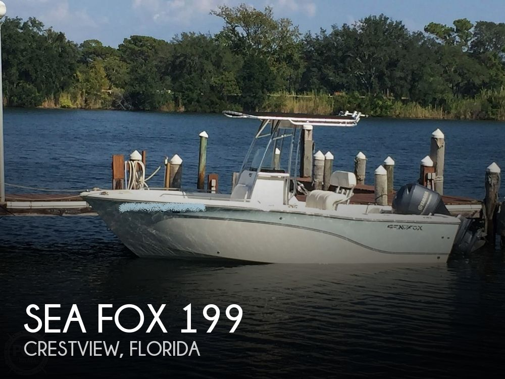 2013 Sea Fox boat for sale, model of the boat is 199CC COMMANDER & Image # 1 of 40