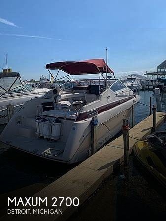 Used Maxum Boats For Sale in Michigan by owner | 1990 Maxum 2700