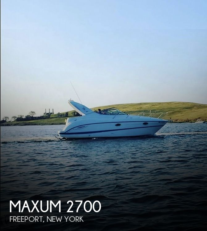 2006 Maxum boat for sale, model of the boat is 2700 & Image # 1 of 40