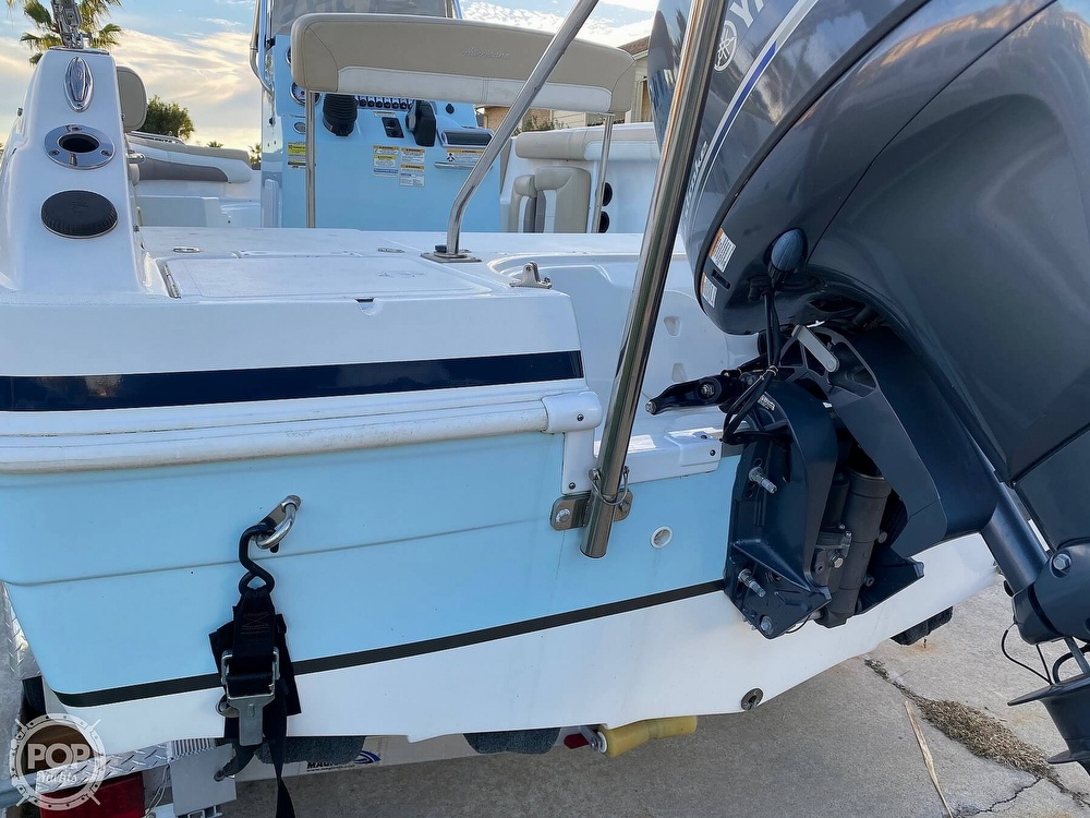 2016 Hurricane boat for sale, model of the boat is CC 19 & Image # 25 of 40