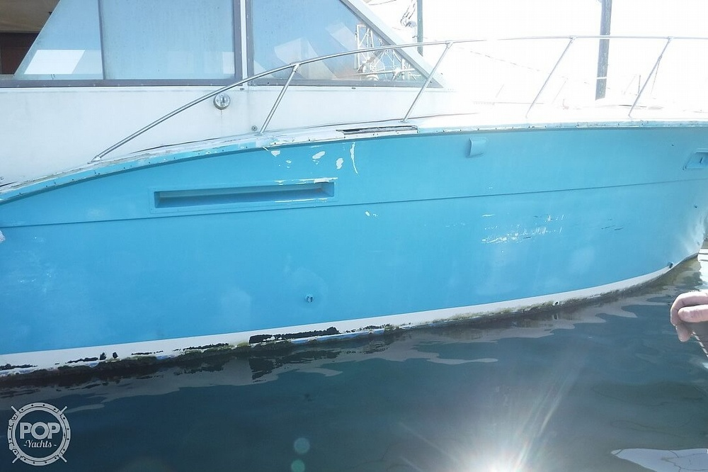 1977 Hatteras boat for sale, model of the boat is 46 Convertible & Image # 6 of 40