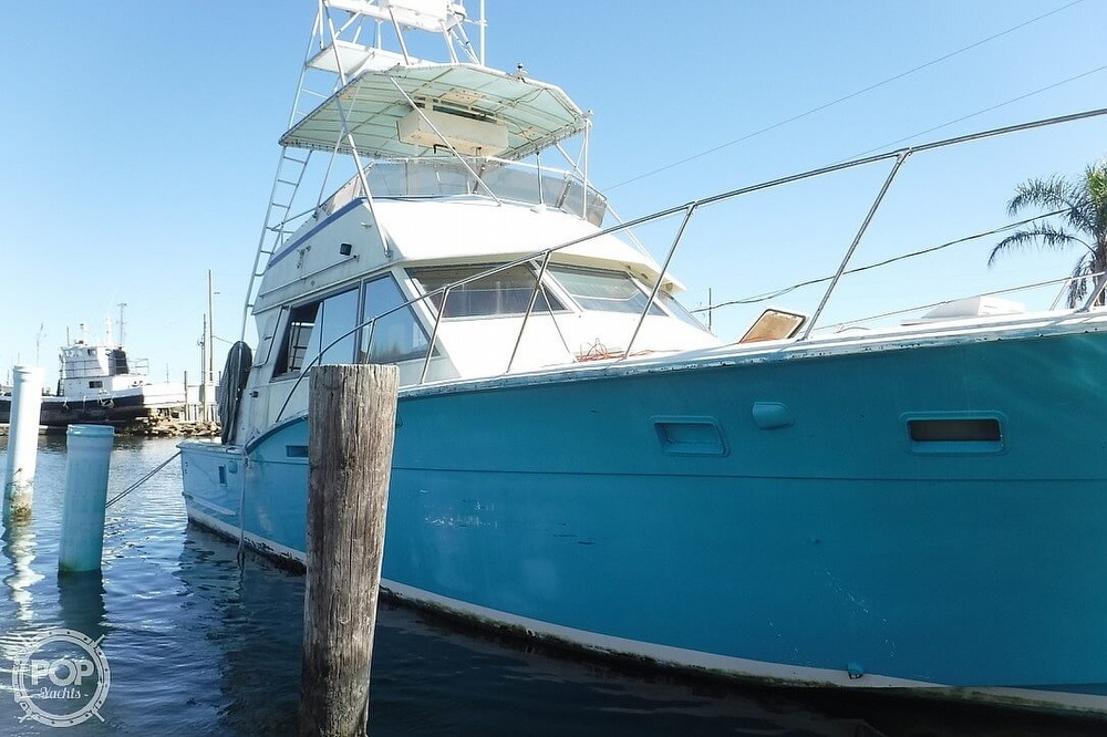1977 Hatteras boat for sale, model of the boat is 46 Convertible & Image # 9 of 40