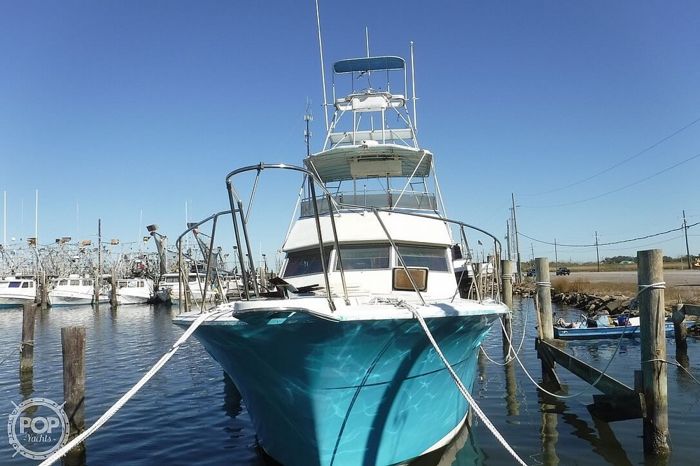 1977 Hatteras boat for sale, model of the boat is 46 Convertible & Image # 10 of 40